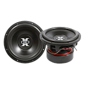 "XFIRE XTREME XMF12.22 12"" dual 2Ω Subwoofer"